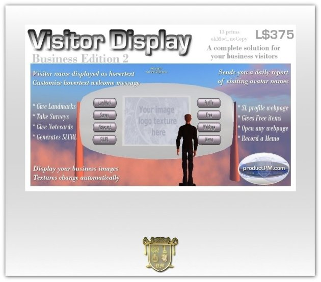 Visitor Display 2 Business Edition