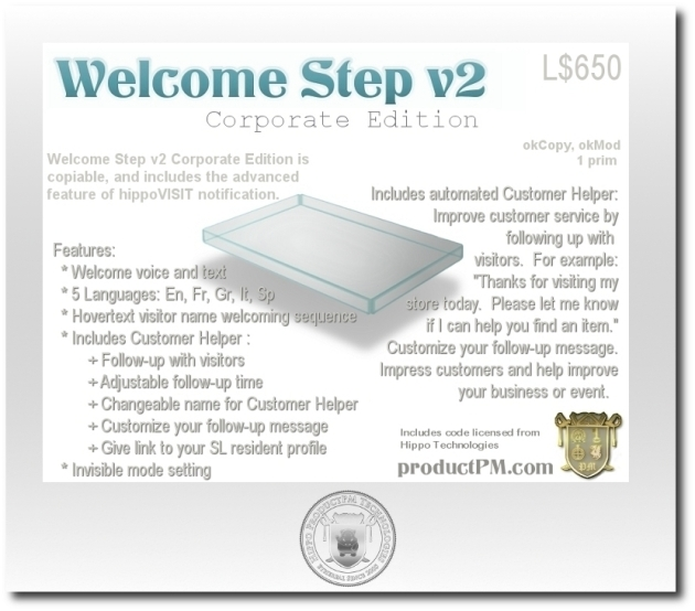 WelcomeStep v2 Corporate Edition texture
